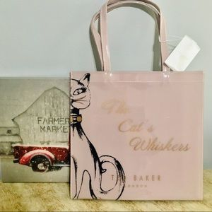 Ted Baker tayacon whiskers Large icon bag